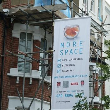 Scaffolding Banners & Boards