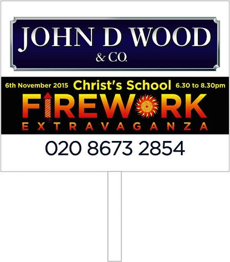 Fireworks Display Board